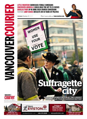 ebd42c1d258ed Vancouver Courier October 15 2015 by Vancouver Courier - issuu
