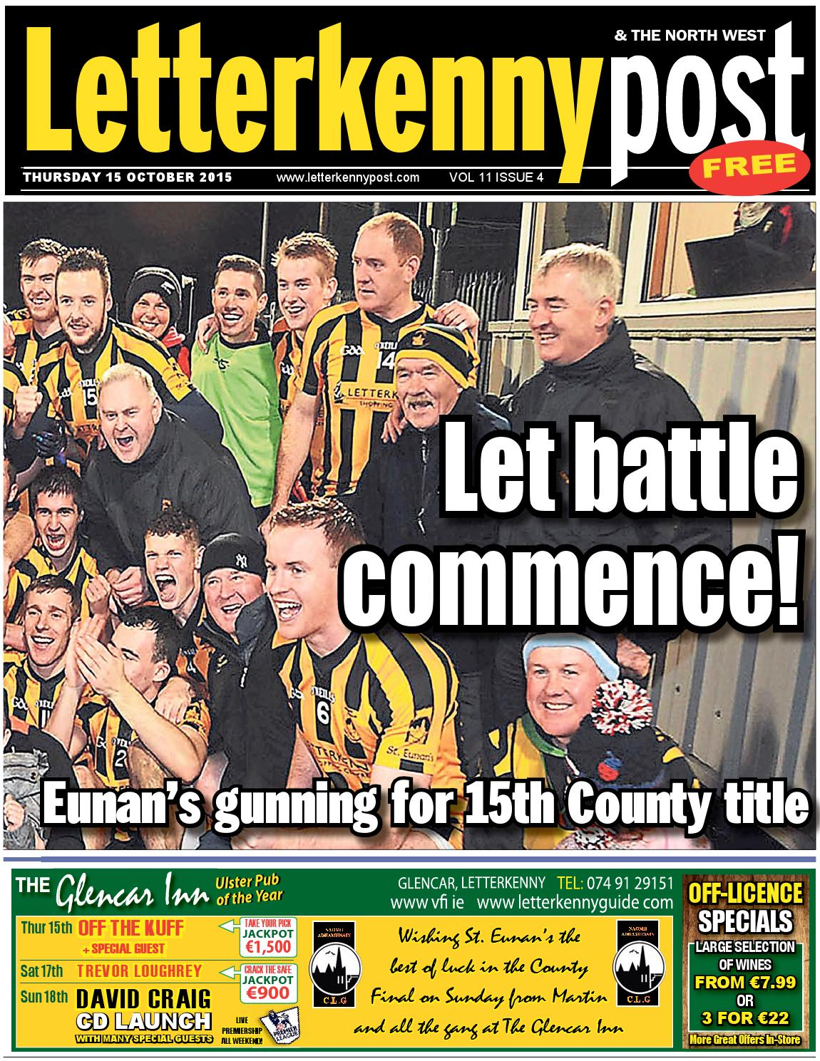 Letterkenny post 15 10 15 by River Media Newspapers - issuu