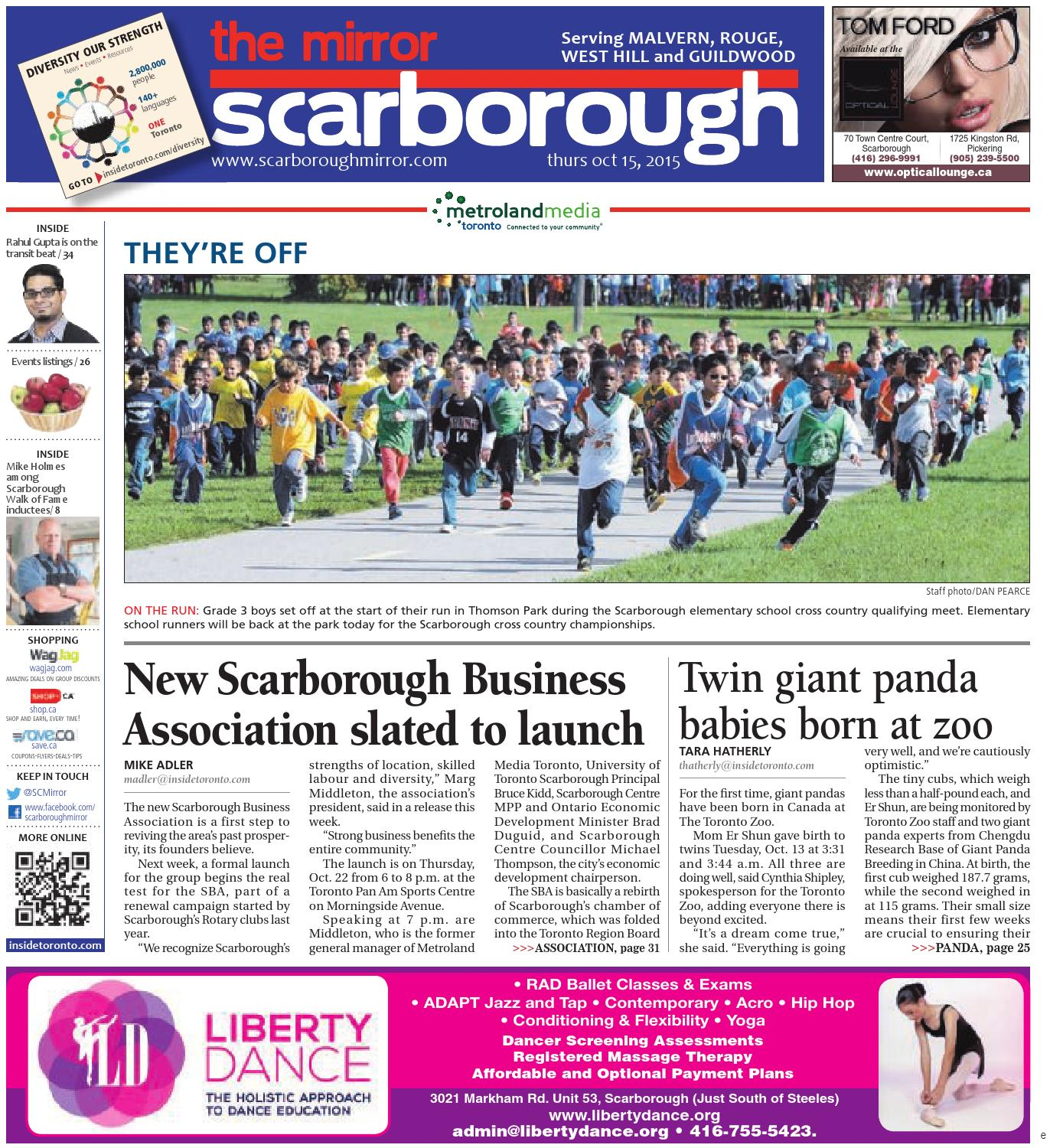 October 15 East by The Scarborough Mirror issuu