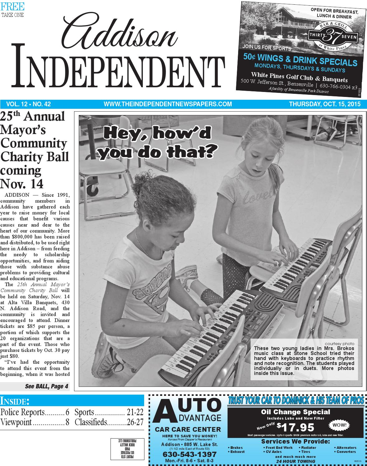 Ai 10 15 15 by Southern Lakes Newspapers / Rock Valley Publishing - issuu
