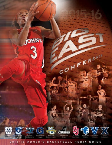 0a288f5eb2ca 2015-16 Women s Basketball Guide by BIG EAST Conference - issuu