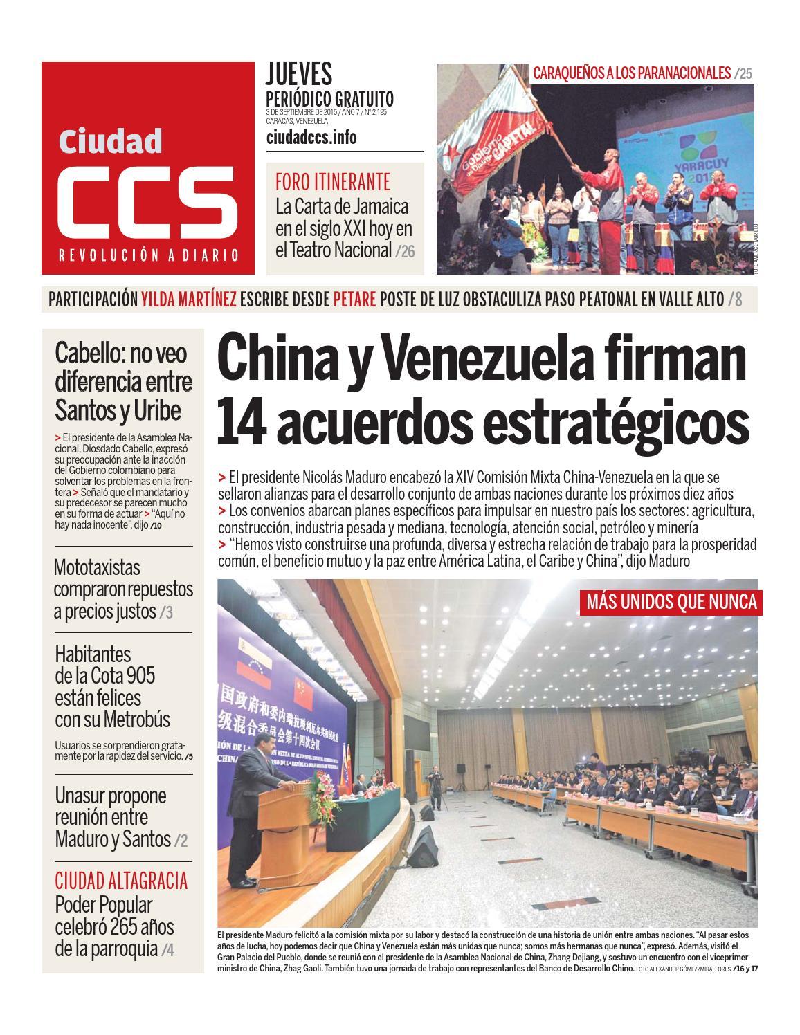 03/09/15 by Ciudad CCS - issuu