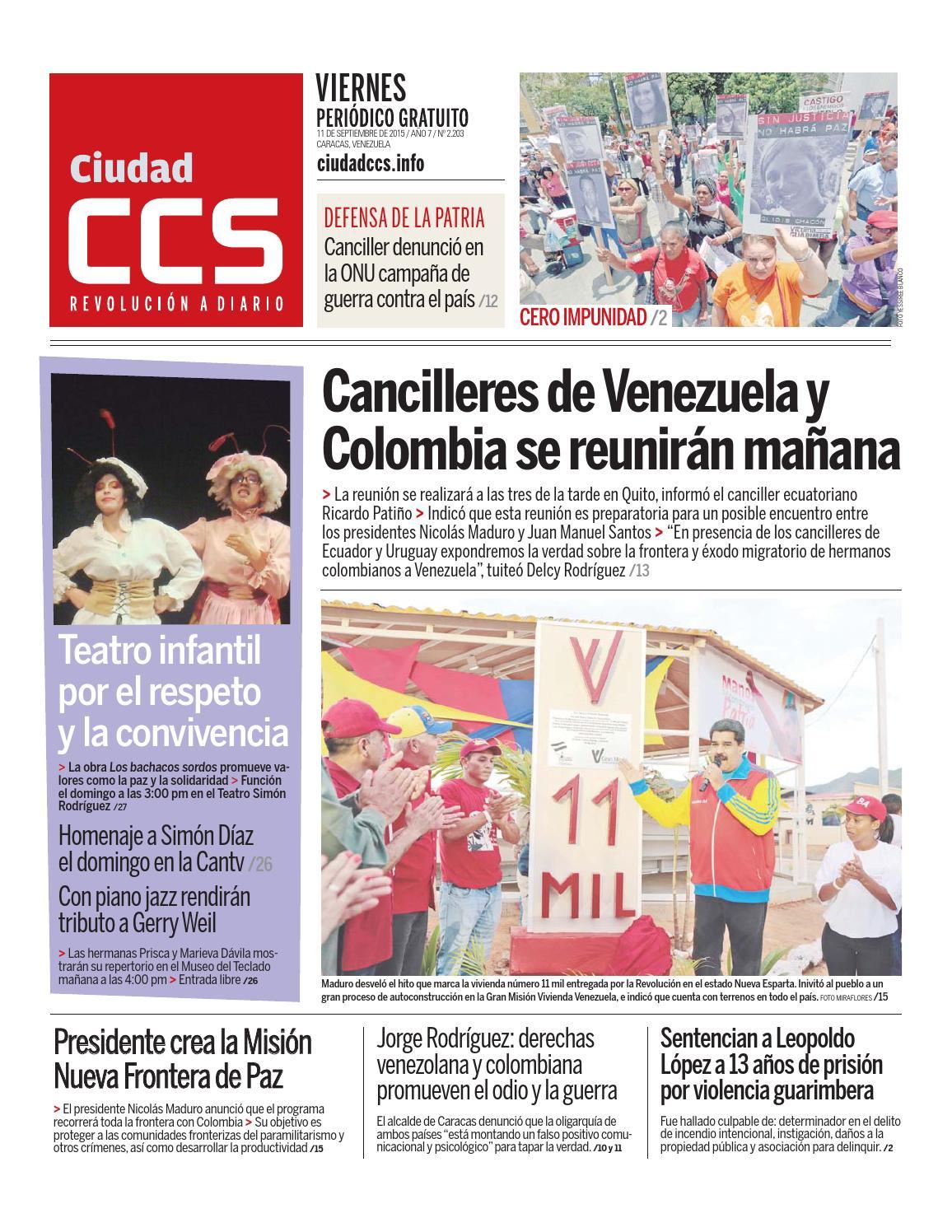 11/09/15 by Ciudad CCS - issuu
