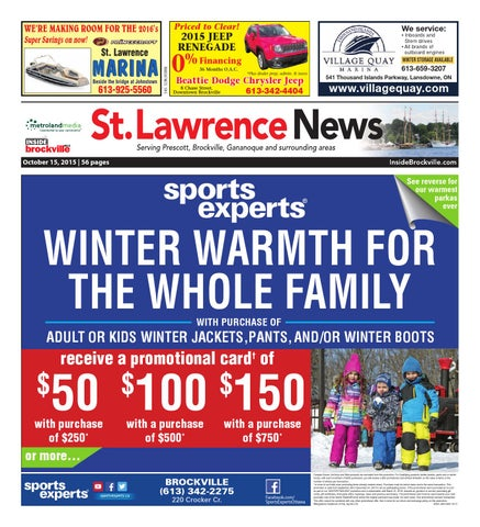 Stlawrence101515 by metroland east st lawrence news issuu page 1 fandeluxe Gallery