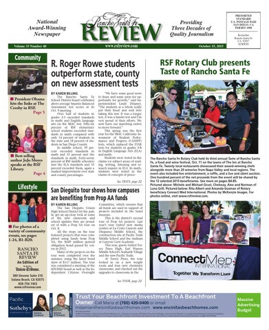 Rancho santa fe review 10 15 15 by mainstreet media issuu page 1 fandeluxe Choice Image