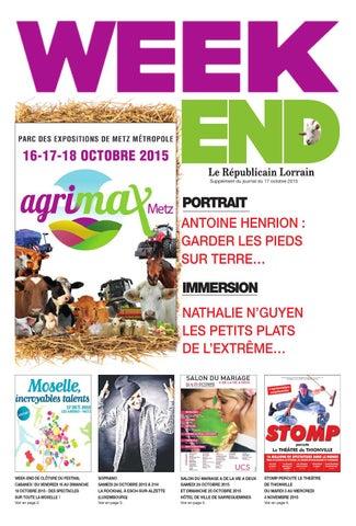 Weekend Du 17 Octobre By Republicain Lorrain Issuu
