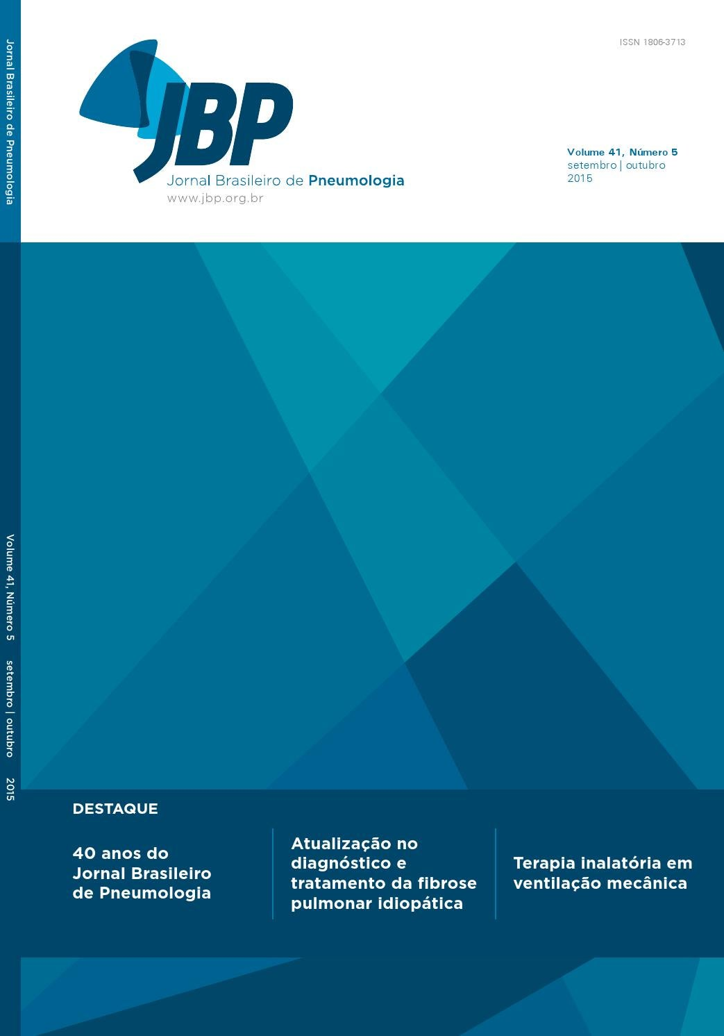JBP - Volume 41 - Número 5 (setembro outubro) - Ano 2015 by Jornal  Brasileiro Pneumologia - issuu 174da35307