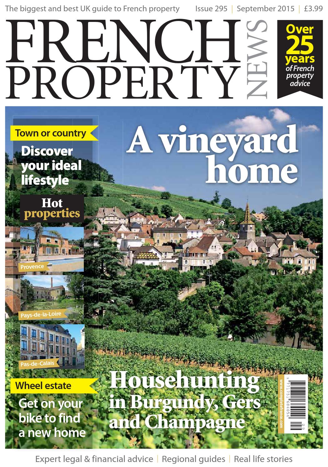 Sehe45yfrench Property News September 2015 By Juoredsaqo Issuu