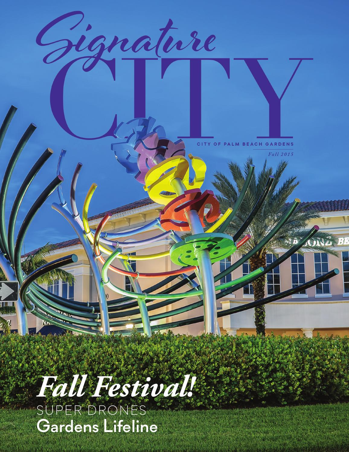 Signature City Fall 2015 Palm Beach Gardens Fl By City
