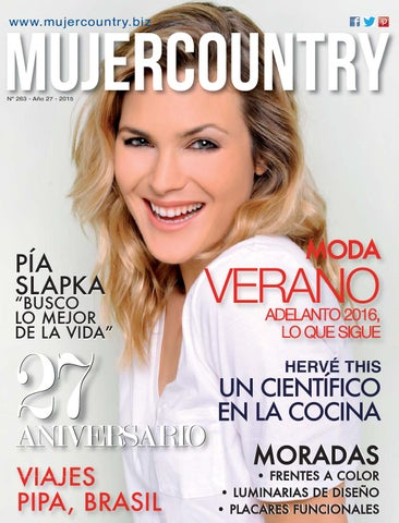 Revista Mujer Country - Nº263 - Octubre 2015 by MujerCountry Revista ... 86c7752dd7e