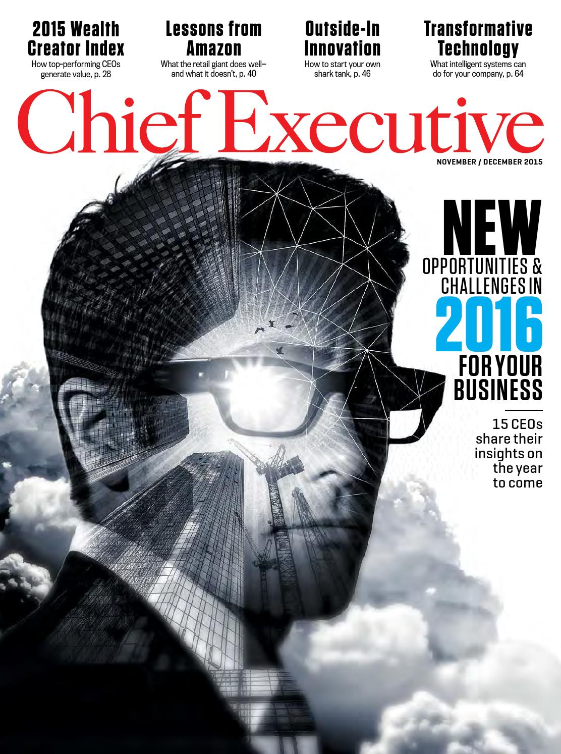 ddb1a62035b48 Chief Executive November December 2015 by Chief Executive Group - issuu