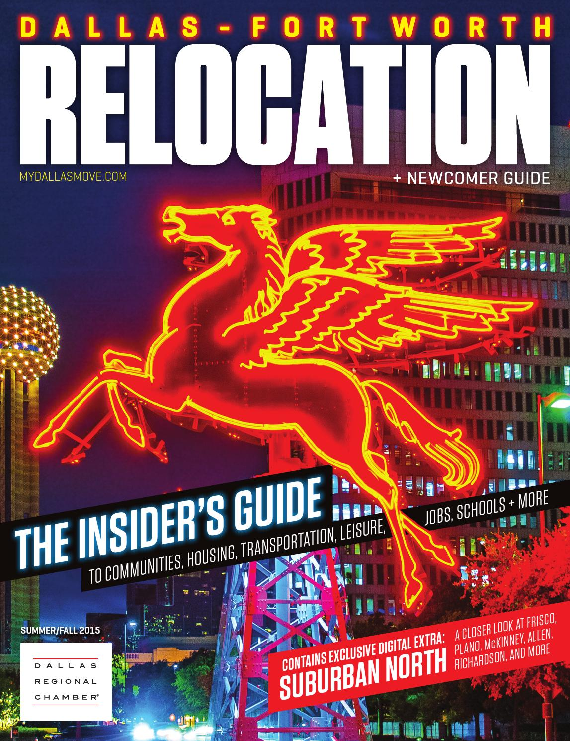 dallas fort worth relocation newcomer guide summer fall 2015 by