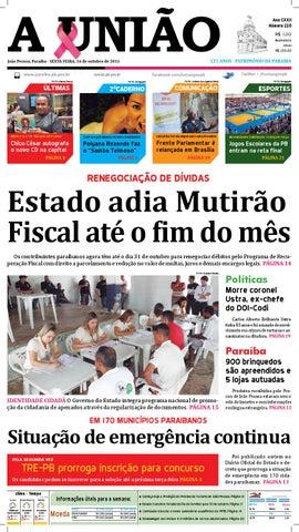 Jornal A União - 16 10 2015 by Jornal A União - issuu 6d71933b03927