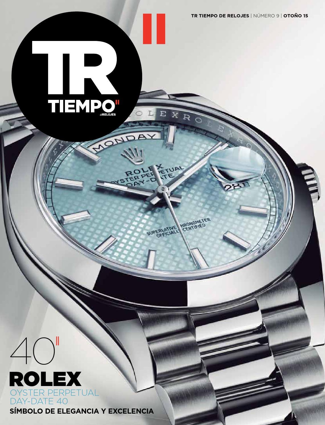 Tr tiempoderelojes numero 9 by Ed-Tourbillon.Spain - issuu f8042515346c