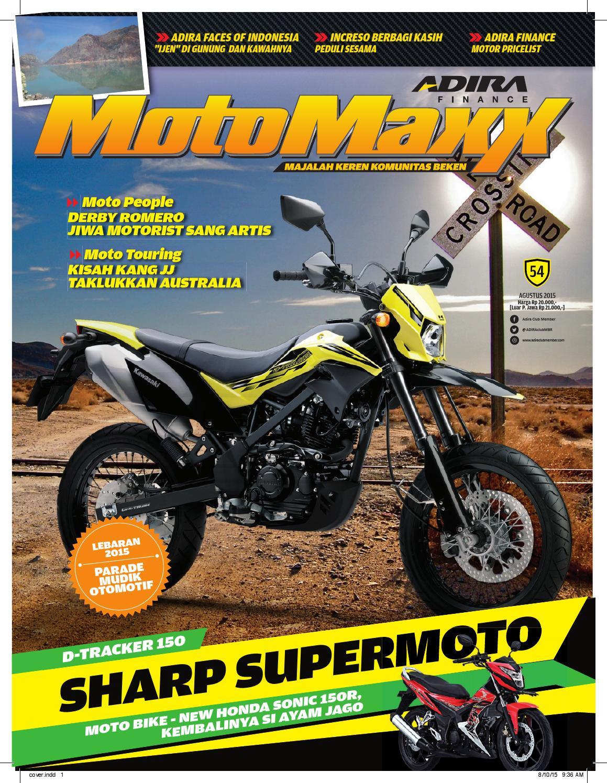 Motomaxx 08 2015 By Adira Member Issuu All New Beat Sporty Esp Cbs Iss Soul Red White Kota Semarang