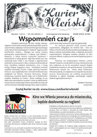 Kurier Wlenski Nr 12 By Kurier Wleński Issuu