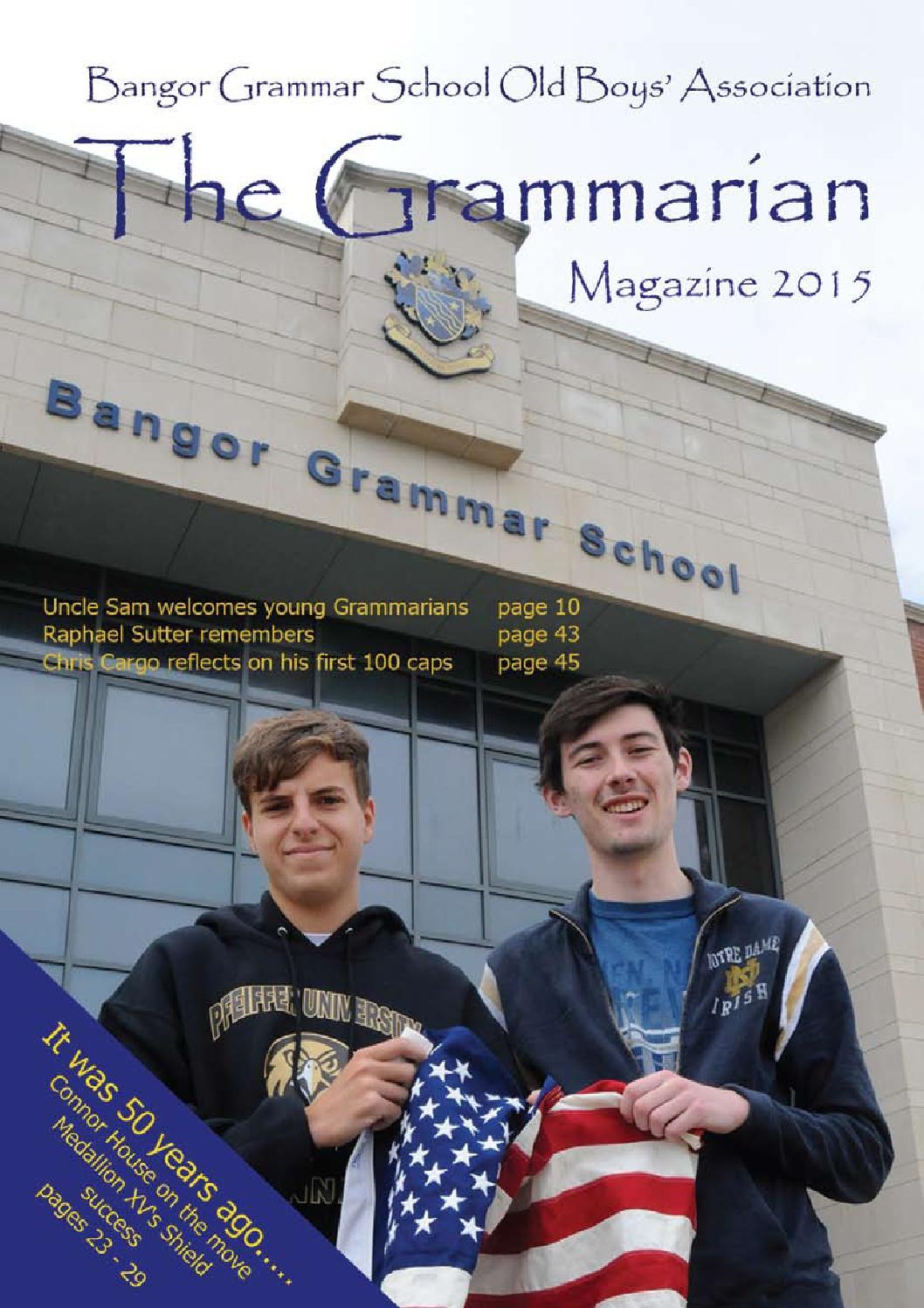 The Grammarian 2015 By Gavin Walker Issuu