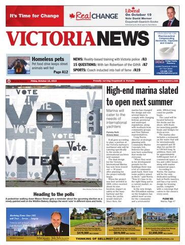 c85e88c4b9f Victoria News, October 16, 2015 by Black Press Media Group - issuu
