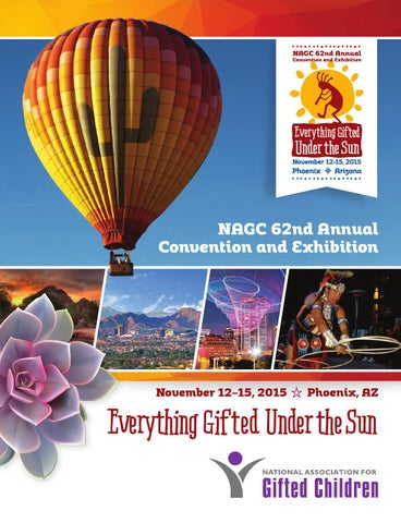 Nagc 2015 convention program book by national association for gifted page 1 fandeluxe Choice Image