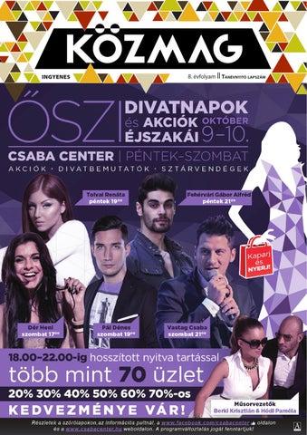 """Cover of """"KÖZMAG Középiskolások Magazinja - Tanévnyitó Lapszám - 2015-09 – Békéscsaba"""""""