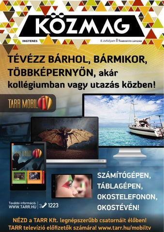 """Cover of """"KÖZMAG Középiskolások Magazinja - Tanévnyitó Lapszám - 2015-09 – Szekszárd-Bonyhád"""""""