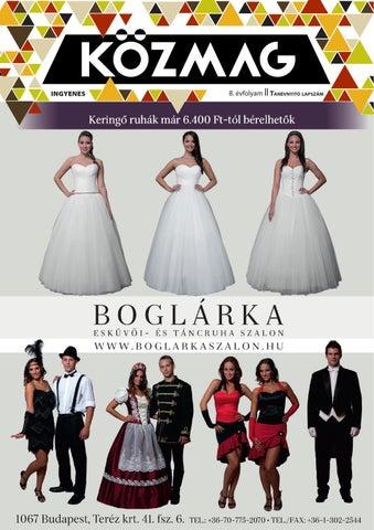 """Cover of """"KÖZMAG Középiskolások Magazinja - Tanévnyitó Lapszám - 2015-09 – Budapest"""""""