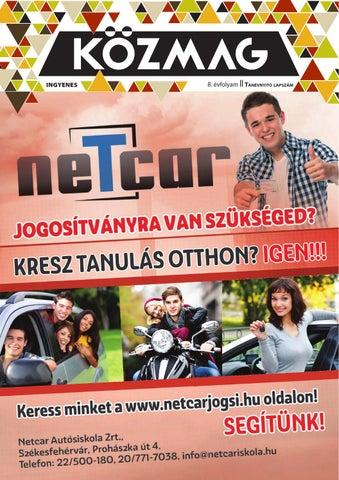 """Cover of """"KÖZMAG Középiskolások Magazinja - Tanévnyitó Lapszám - 2015-09 – Székesfehérvár"""""""