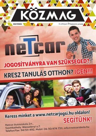 """Cover of """"KÖZMAG Középiskolások Magazinja - Tanévnyitó Lapszám - 2015-09 – Szombathely"""""""