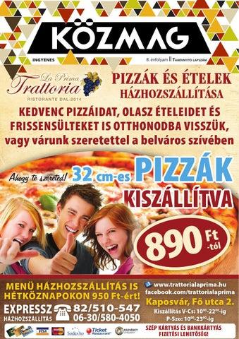 """Cover of """"KÖZMAG Középiskolások Magazinja - Tanévnyitó Lapszám - 2015-09 – Kaposvár"""""""