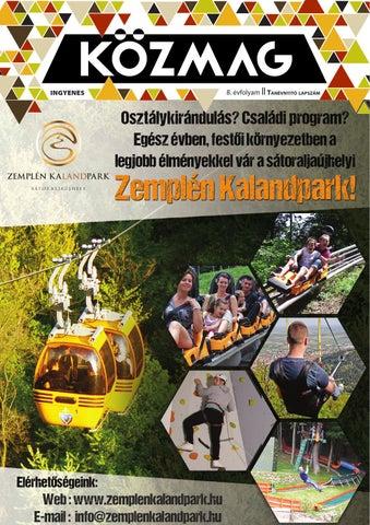 """Cover of """"KÖZMAG Középiskolások Magazinja - Tanévnyitó Lapszám - 2015-09 – Tatabánya"""""""