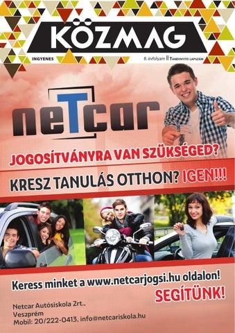 """Cover of """"KÖZMAG Középiskolások Magazinja - Tanévnyitó Lapszám - 2015-09 – Veszprém"""""""