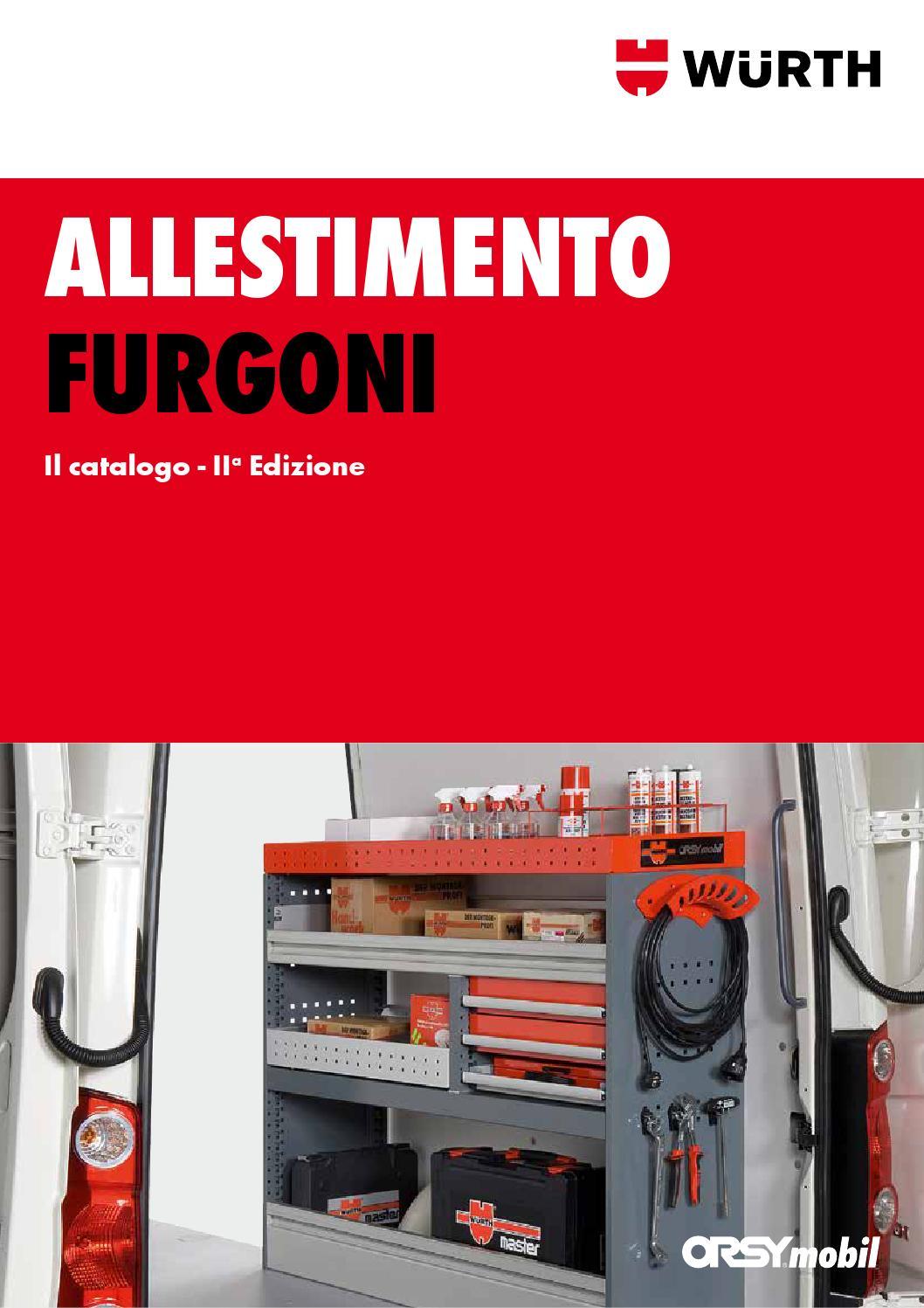 Scaffali Per Furgoni Prezzi.Allestimento Furgoni Wurth By Wurth Italia Issuu