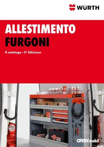 Allestimento furgoni w rth by w rth italia issuu for Allestimento furgoni wurth
