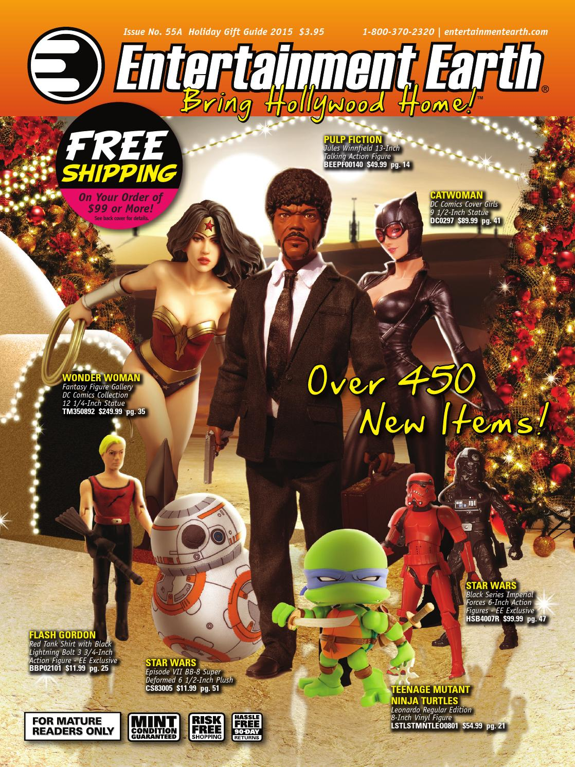 403d51d305160 Entertainment Earth Holiday Gift Guide 2015 Catalog by Entertainment Earth  - issuu