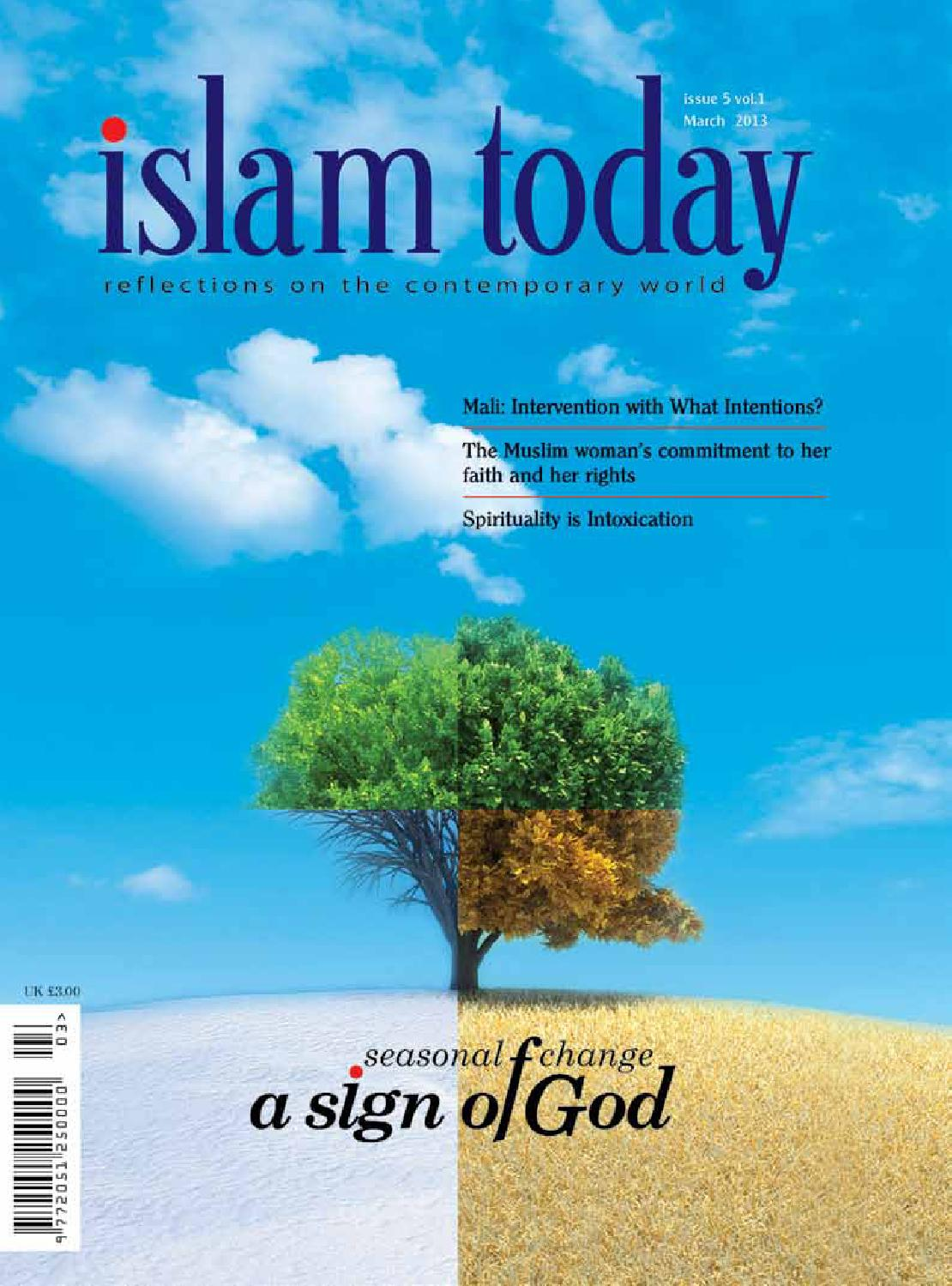 Islam today - issue 5 - March 2013 by islam today magazine UK - issuu