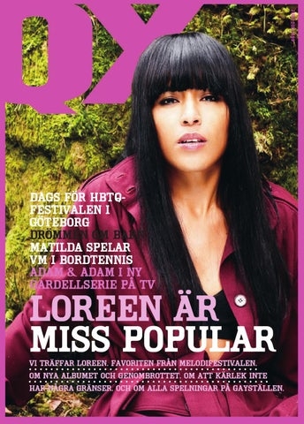 Melodifestivalen portar heterosexuella bloggare