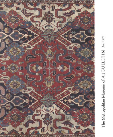Islamic Carpets The Joseph V Mcmullan Collection Met Bulletin