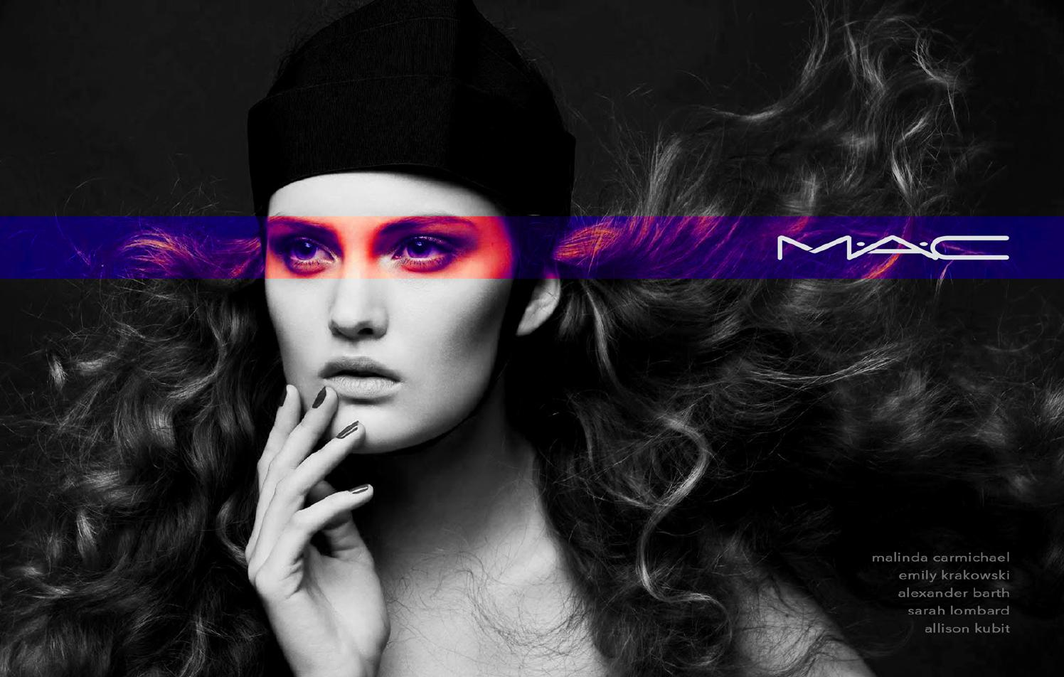 M•A•C Cosmetics Advertising Campaign by Sarah Lombard - Issuu