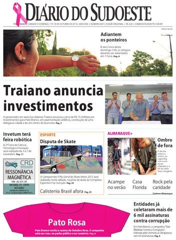d88cd58ee8 Diário do sudoeste 17 e 18 de outubro de 2015 ed 6491 by Diário do ...