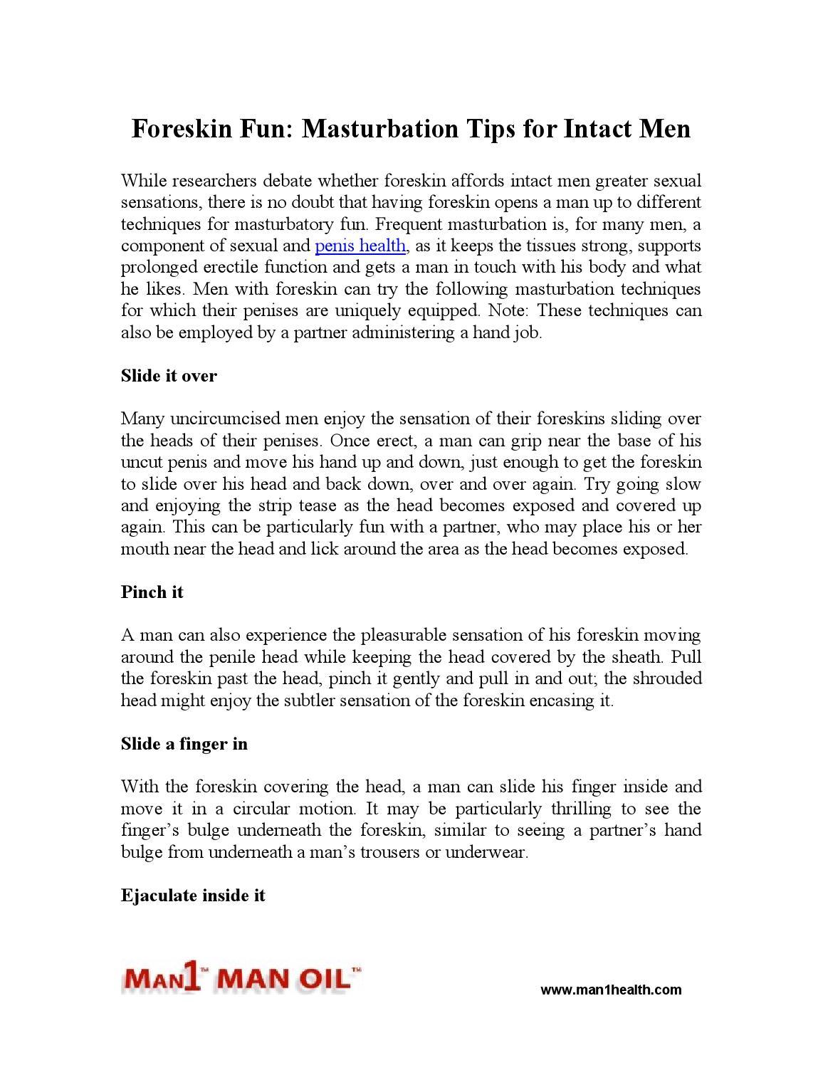 Foreskin masturbation tips-1171