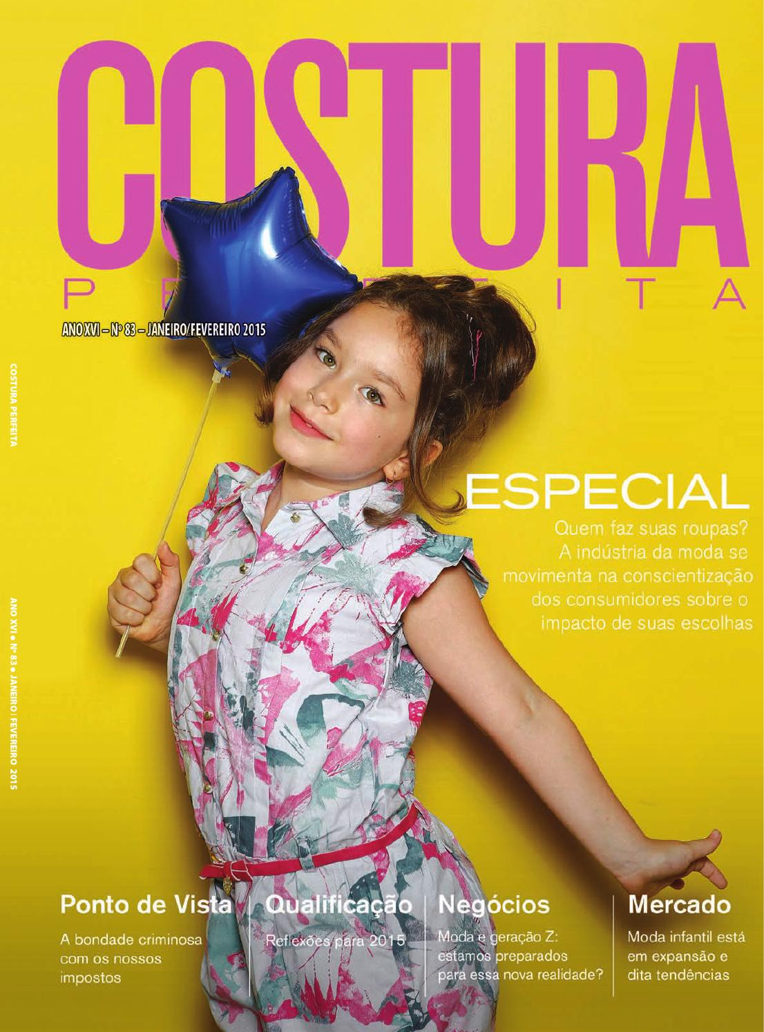9bcf1c11a Revista Costura Perfeita Ano XVI n°83 Janeiro Fevereiro 2015 by Costura  Perfeita - issuu