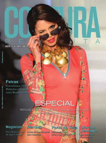 Revista Costura Perfeita Ano XVI n°84 Marco Abril 2015 by Costura ... d76caec4db