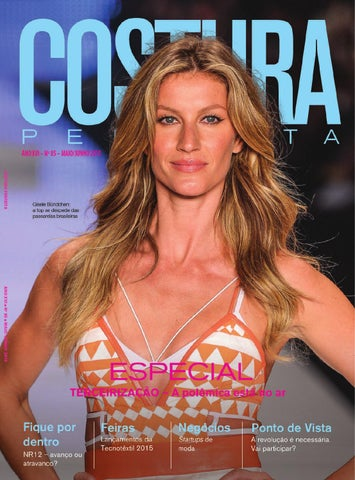 ca5985486a0f Revista Costura Perfeita Ano XVI n°85 Maio/Junho 2015 by Costura ...