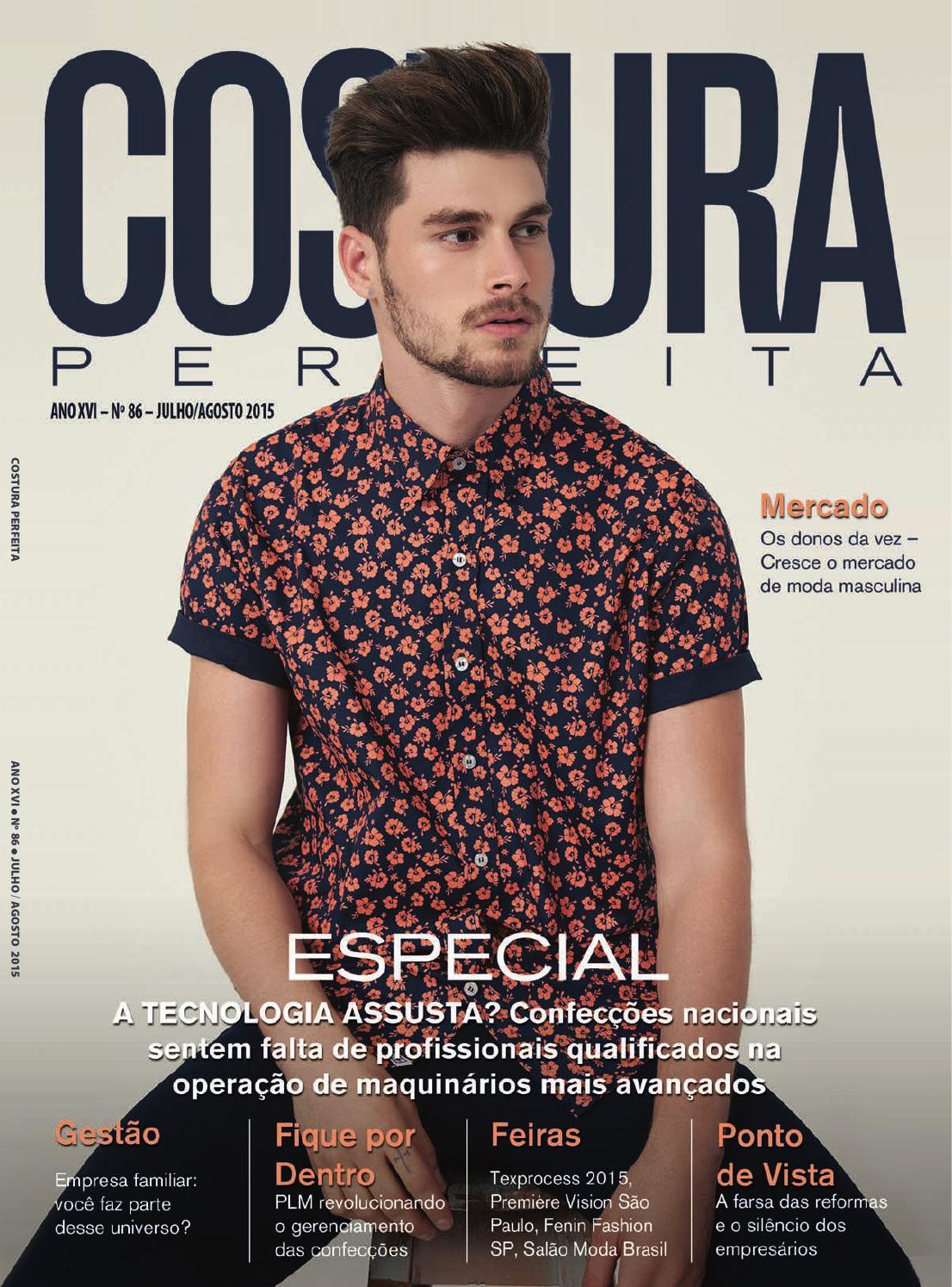 Revista Costura Perfeita Ano XVI n°86 Julho Agosto 2015 by Costura Perfeita  - issuu 726a7dd3b9