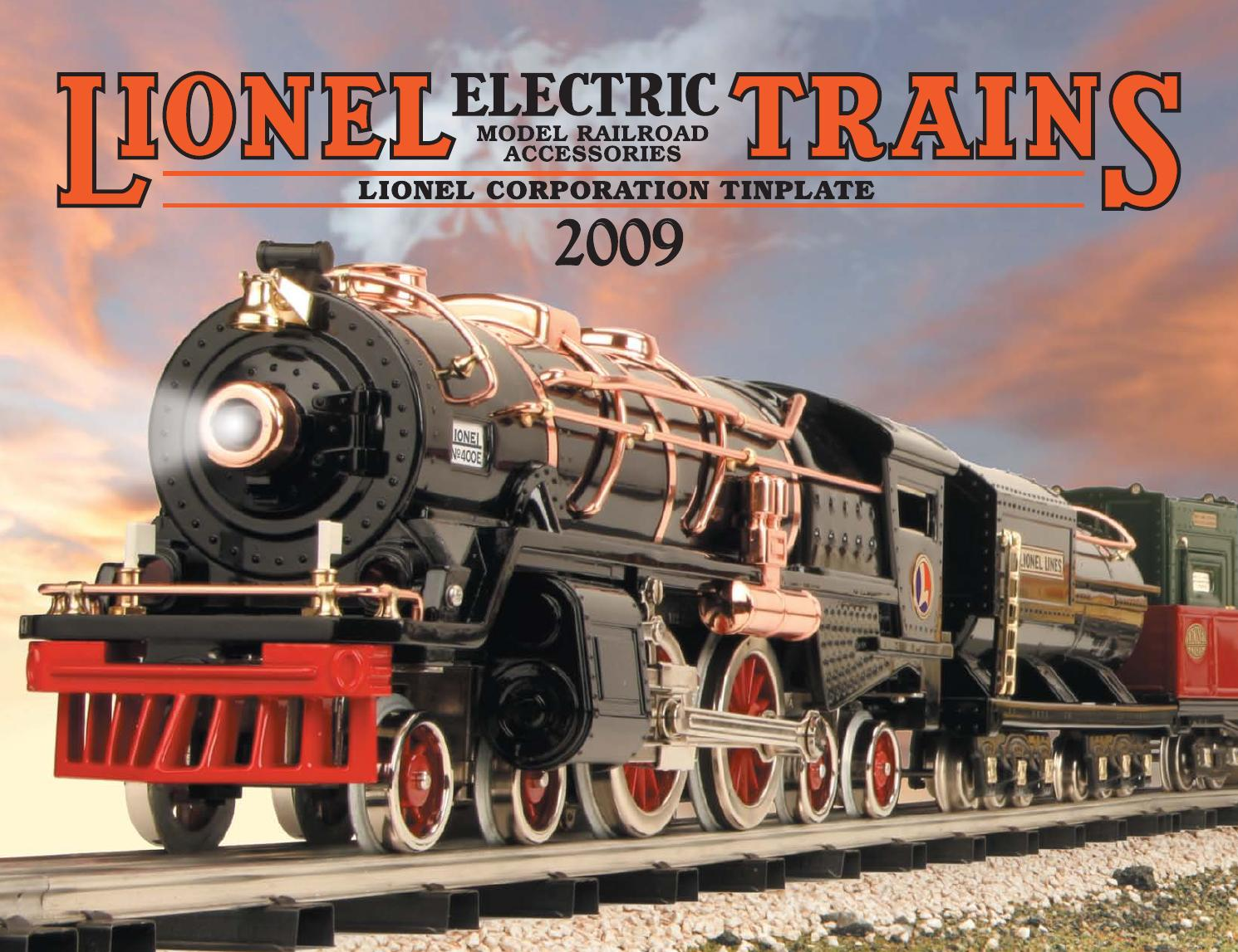 LIONEL NYC S-1 ELECTRIC FOURTH SPECIAL INTRODUCTION 2003 CATALOG//BROCHURE