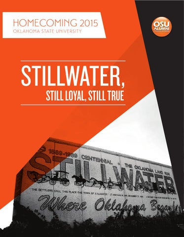 2015 OSU Homecoming Publication by Oklahoma State - issuu