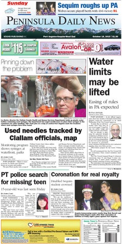 Pdnn20151018c By Peninsula Daily News Amp Sequim Gazette Issuu