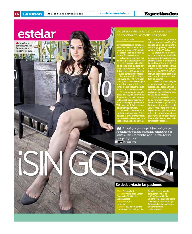 Actriz Porno Del Gorro lral181015la razón san luis - issuu