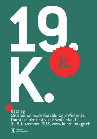Katalog 19 Internationale Kurzfilmtage Winterthur By Int