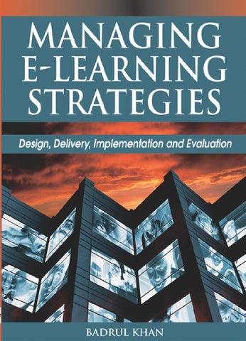 badrul huda khan] managing e learning strategies(bookzz org